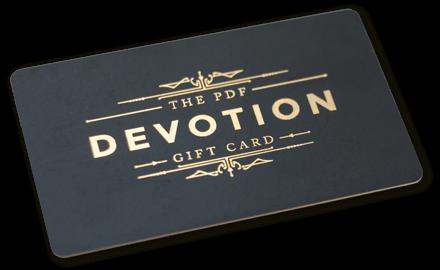 PDF Devotion card