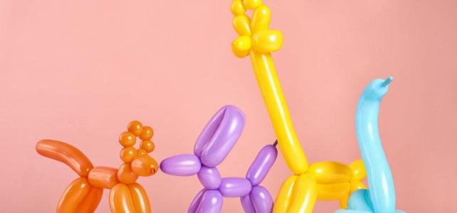 Fina ballongfigurer för barnkalaset!